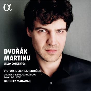 Cover Dvořák & Martinů: Cello Concertos