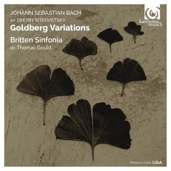 Cover Bach, Sitkovetsky: Goldberg Variations