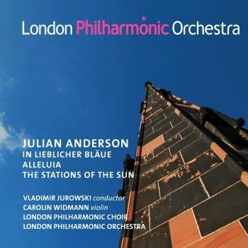Cover Julian Anderson: In lieblicher Blaue, Alleluia & The Stations of the Sun