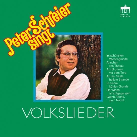 Cover Peter Schreier singt Volkslieder (Remastered)