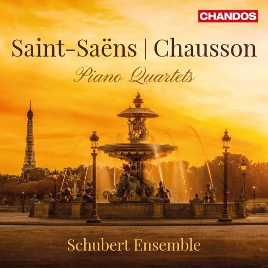 Cover Saint-Saëns & Chausson: Piano Quartets