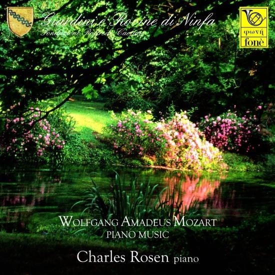 Cover Giardini e Rovine di Ninfa - Mozart Piano Music