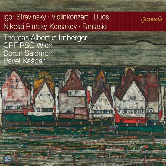 Cover Violinkonzert - duos - fantasie