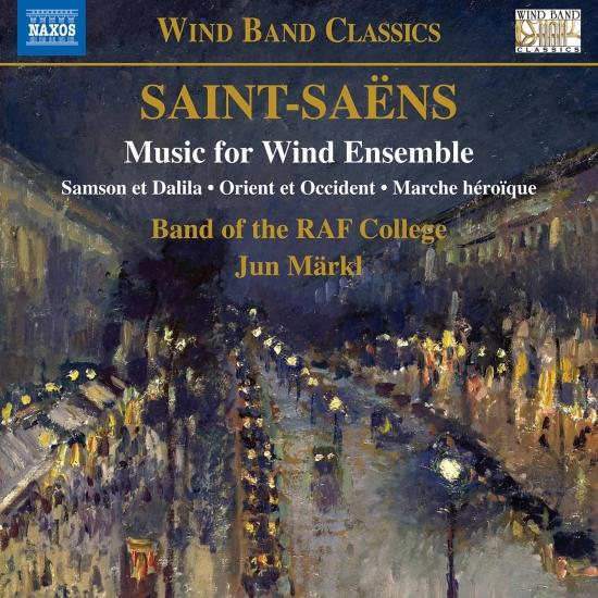 Cover Saint-Saëns: Music for Wind Ensemble