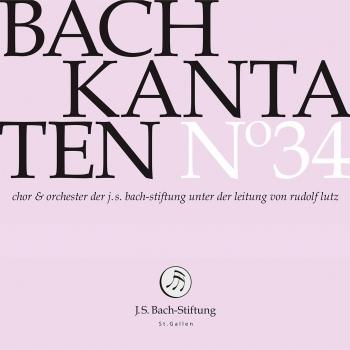 Cover Bach Cantatas, Vol. 34