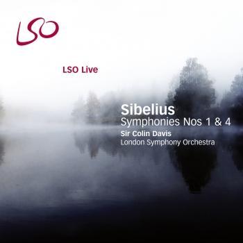 Cover Sibelius: Symphonies Nos. 1 & 4