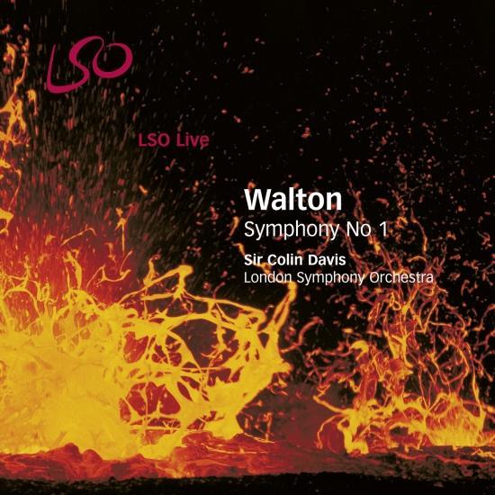 Cover Walton: Symphony No. 1