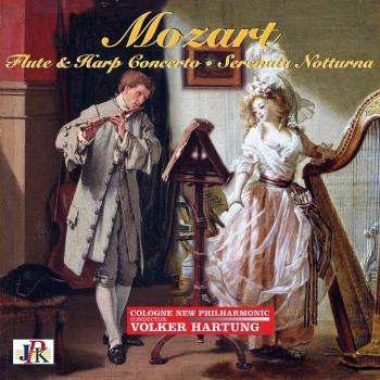 Cover Mozart: Concerto for Flute & Harp, Don Giovanni Overture, and Serenade No. 6