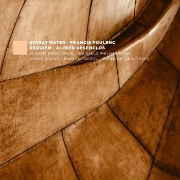 Cover F. Poulenc: Stabat Mater, FP 148 - A. Desenclos: Messe de Requiem