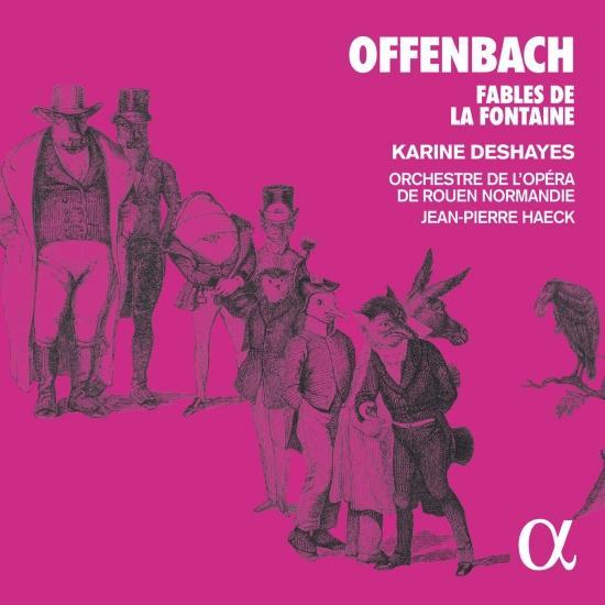 Cover Offenbach: Fables de la Fontaine
