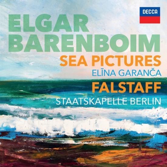 Cover Elgar: Sea Pictures. Falstaff
