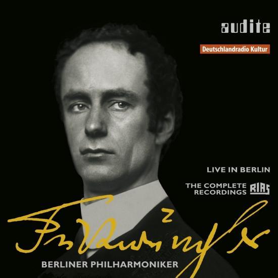 Cover Audite Edition Wilhelm Furtwängler (The Complete RIAS Recordings from Berlin, 1947-1954)