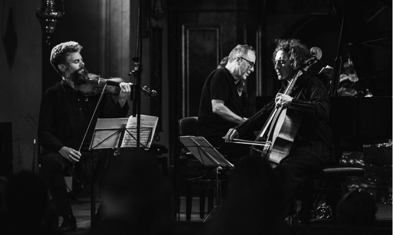 Review Barnabás Kelemen, Nicolas Altstaedt, Alexander Lonquich - Kodály: Duo for Violin and Violoncello, Op. 7 - Dvořák: Piano Trio, Op. 90 'Dumky'