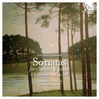 Cover Brahms: Sonatas for clarinet and piano Op. 120