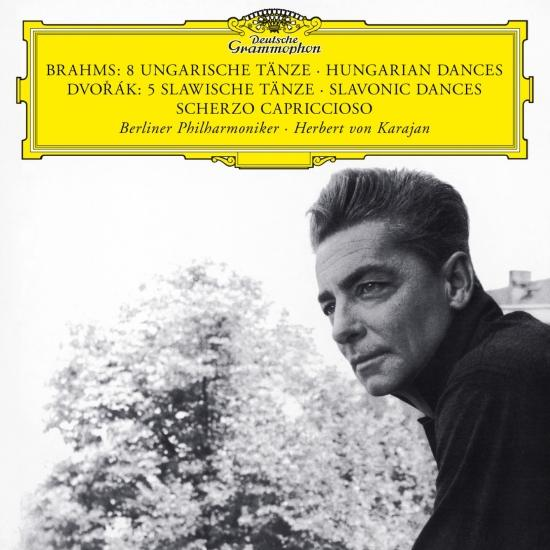 Cover Brahms: 8 Hungarian Dances / Dvorak: 5 Slavonic Dances; Scherzo Capriccioso (Remastered)