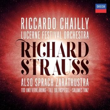 Cover Richard Strauss: Also sprach Zarathustra; Tod und Verklärung; Till Eulenspiegel; Salome's Dance (Live)