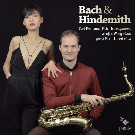 Cover Bach & Hindemith