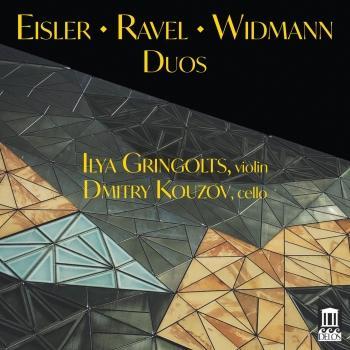 Cover Eisler, Ravel & Jörg Widmann: Duos
