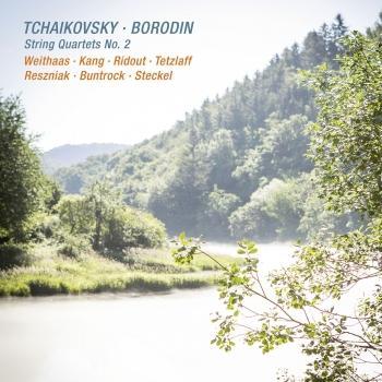 Cover Tchaikovsky & Borodin: String Quartets No. 2
