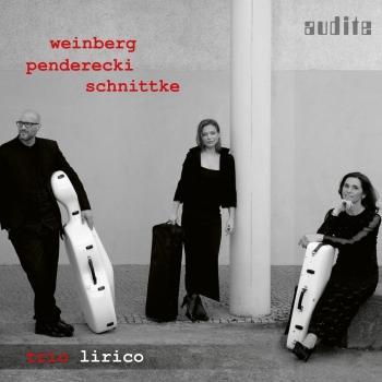 Cover Weinberg, Penderecki & Schnittke: String Trios