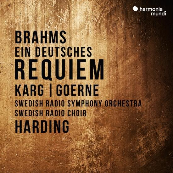 Cover Brahms: Ein deutsches Requiem