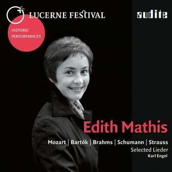 Cover Lucerne Festival Historic Performances: Edith Mathis