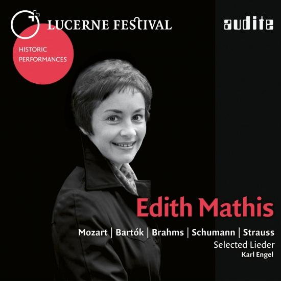 Cover Lucerne Festival Historic Performances: Edith Mathis