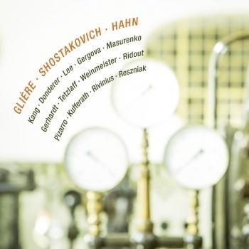 Cover Glière, Shostakovich & Hahn