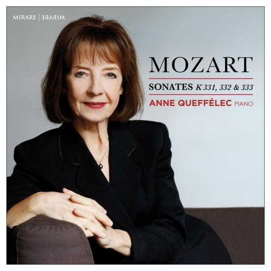 Cover Mozart: Sonates pour piano, K. 331, 332 & 333