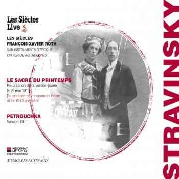 Cover Igor Stravinsky: Le sacre du Printemps & Petrouchka