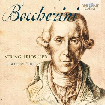 Cover Boccherini: String Trios, Op. 6