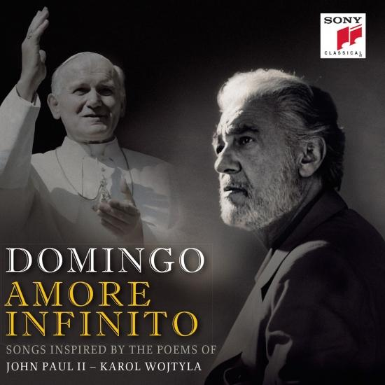 Cover Amore Infinito - Songs Inspired by the Poems of John Paul II - Karol Wojtyla