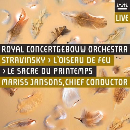 Cover Stravinsky: L'Oiseau de Feu (1919 Version) - Le Sacre du Printemps [Live]