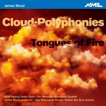 Cover James Wood: Cloud-Polyphonies & Tongues of Fire