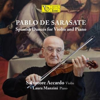 Cover Pablo de Saraste: Spanish Dances for Violin and Piano