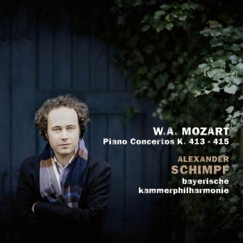 Cover Mozart: Piano Concertos K. 413 & K. 415