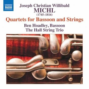 Cover Michl: Quartets for Bassoon & Strings