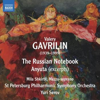 Cover Gavrilin: Russian Notebook & Anyuta (Excerpts)