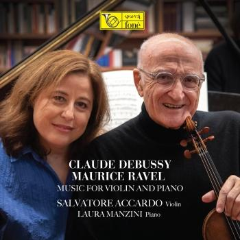 Cover Claude Debussy, Maurice Ravel: Music for Violin and Piano