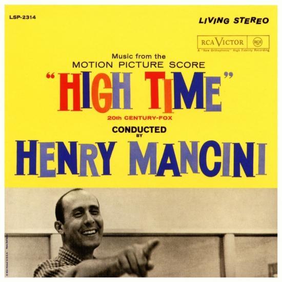 Cover High Time (The Original Sound Track Recording)