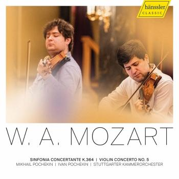 Cover Mozart: Violin Concerto No. 5, K. 219 & Sinfonia Concertante, K. 364