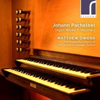 Cover Pachelbel: Organ Works, Volume 1