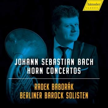 Cover J.S. Bach: Horn Concertos