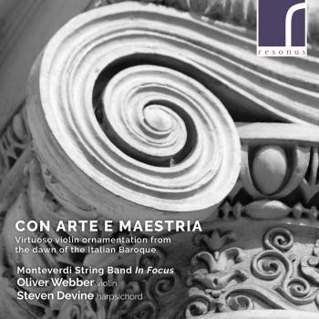 Cover Con arte e maestria: Virtuoso violin ornamentation from the Italian Baroque