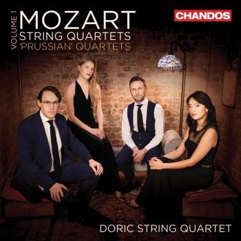 Cover Mozart: String Quartets, Vol. 1 – The Prussian Quartets