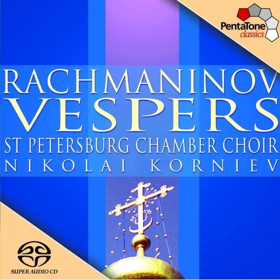 Cover Rachmaninov: Vespers, Op. 37