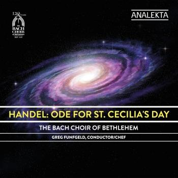 Cover Handel: Ode for St. Cecilia's Day