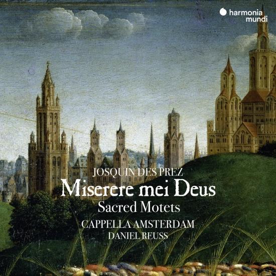 Cover Josquin des Prez: Miserere mei Deus