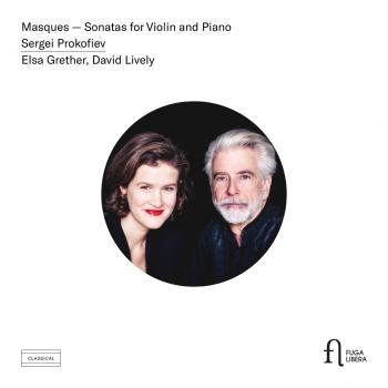 Cover Prokofiev: Masques & Sonatas for Violin and Piano