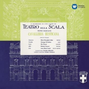 Cover Mascagni: Cavalleria rusticana (1953 - Serafin) - Callas Remastered